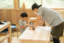 6歳になったら机を作ろう!木こり&机作り体験in東京・檜原村(8月)