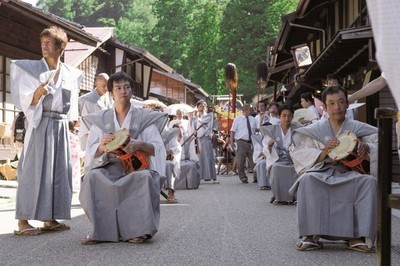 奈良井宿夏祭り