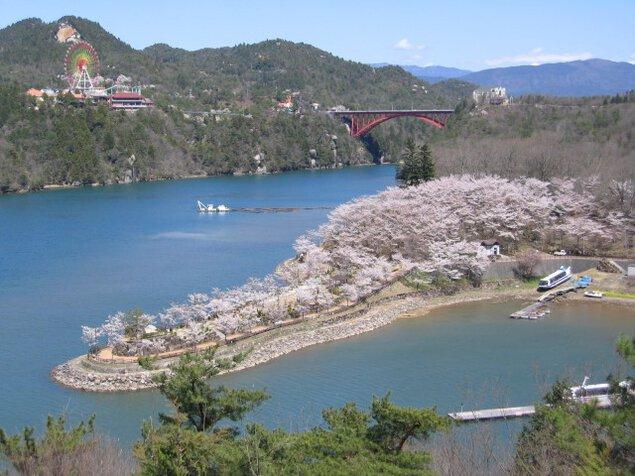 恵那峡さくらまつり