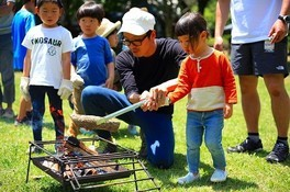 THE NORTH FASE KIDS NATURE SCHOOL CAMP in 国営昭和記念公園