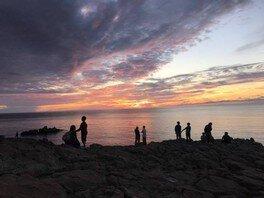 ソルトな夕陽を見に行こう!夕陽ハートカクテルバスツアー