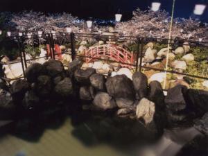 ホテル神の湯温泉 クリスマス限定イルミネーション
