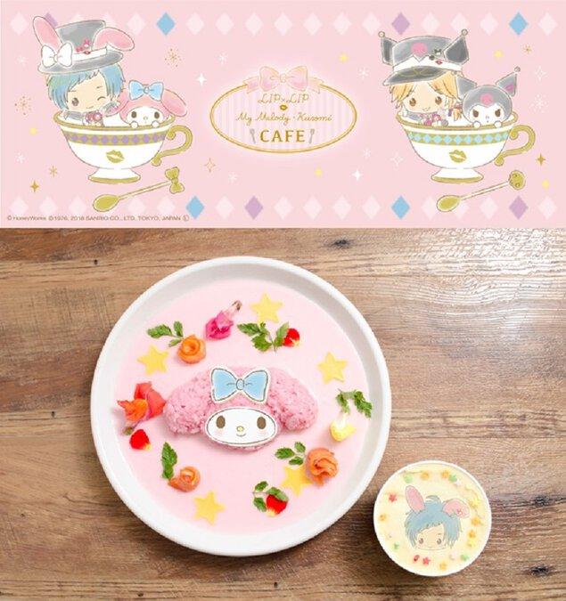 LIP×LIP × My Melody・Kuromi CAFE