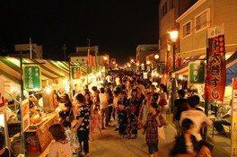 菊川名物夜店市