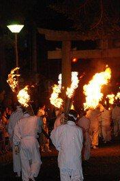 陶都・信楽まつり しがらき火まつり