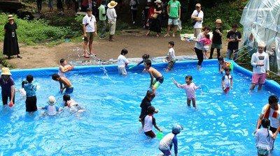 水辺公園 子供プール・川遊び・水遊び