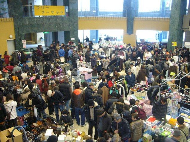 文化パルク城陽フリーマーケット(4月)