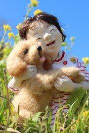大滝博子創作人形展「ここにある幸せ」~昭和・平成・未来 ときをつなぐ大滝博子人形の世界〜