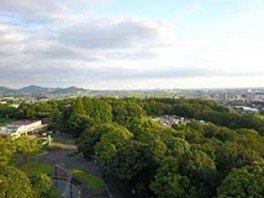 日本モンキーセンター ドローン体験