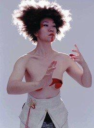 余越保子滞在制作・ダンスワークショップ「shuffleyamamba」