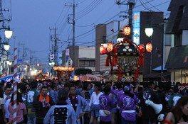 久下田駅前通り周辺