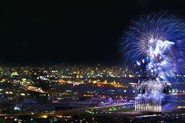 【2020年開催なし】第71回猪名川花火大会