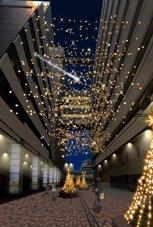 横浜駅東口「星降るテラス」