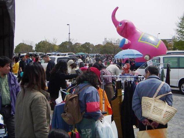 ふれあいフリーマーケット in 花博記念公園(4月)