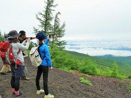 頂上を目指さない富士山ツアー2018「夏の御中道ハイキング」