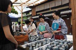 京都・五条坂陶器まつり