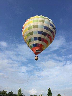 森林公園 熱気球搭乗体験