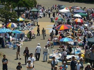 千葉ポートタワー フリーマーケット(5月)