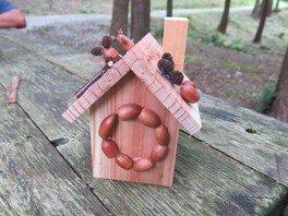県立なか・やちよの森公園 夏休み宿題お助け企画「家型貯金箱」