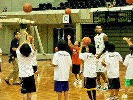 西宮ストークスバスケットボールクリニック
