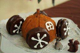 ハロウィンスイーツかぼちゃの馬車を作ろう