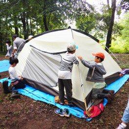 わくわく子ども里山キャンプ