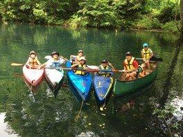 ヤックス自然学校「第42回サマーキャンプ:1week探検村キャンプin信州小谷村」