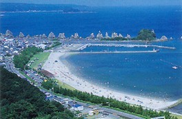 【海水浴】橋杭海水浴場