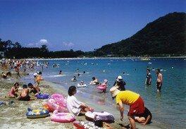 【海水浴】菊ヶ浜海水浴場