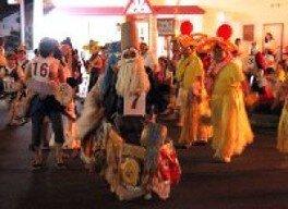 島松駅前盆踊り