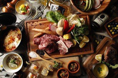 テラスレストランコンフォートハウス「九州食材テラスBBQ」フリードリンク付