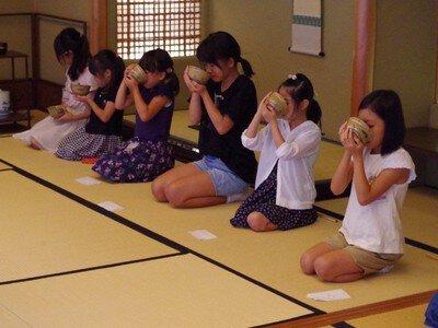 親子茶道体験教室