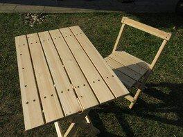 県立なか・やちよの森公園 木工教室シリーズ1折りたたみテーブル&椅子づくり