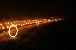 「合川まと火」と「ふるさとまつり」