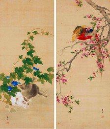 花鳥画にみる迫真性に満ちた描写や機知に富んだ表現は必見