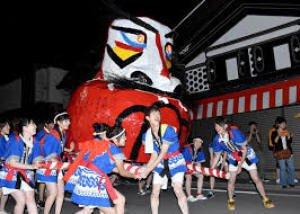 大原だるま祭り