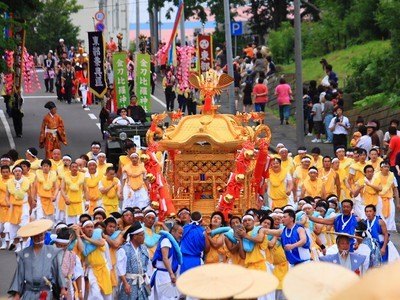 【2020年開催なし】根室金刀比羅神社例大祭