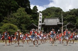 竹田神社夏祭り・六月灯