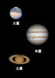 火星・木星・土星観望会