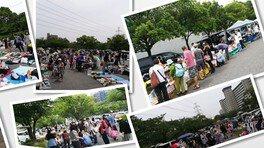 西葛西「新田6号公園」フリーマーケット(8月)