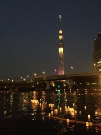 隅田・台東連携記念 隅田川とうろう流し<中止となりました>