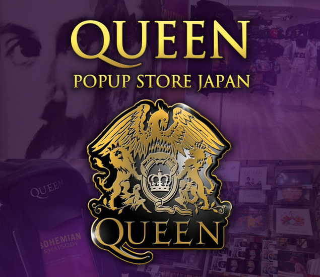 QUEEN POPUP STORE JAPAN 全国縦断ツアー in 広島