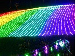 灯りでつなぐ1300年 白山一里野イルミネーション2018