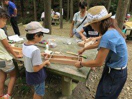 県立なか・やちよの森公園 夏休み宿題お助け企画「ホッケーゲームづくり」