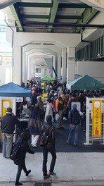 JR弁天町駅前フリマ(9月)