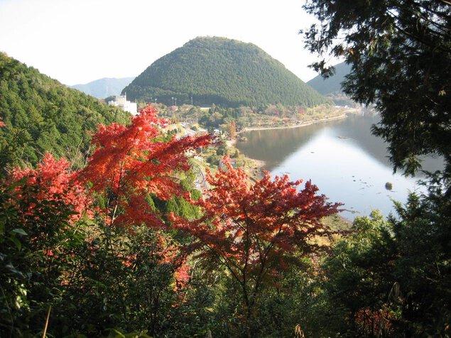 藺牟田池県立自然公園の紅葉