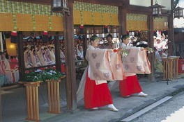 率川神社 三枝祭