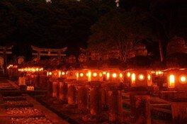 萩・万灯会(送り火)