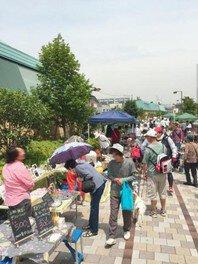 横浜「反町駅前フェスタ」東横フラワー緑道フリマ(9月)