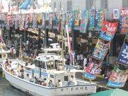 小田原漁港とその周辺